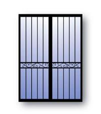Security screen doors 96 security screen doors for Bella retractable screen door